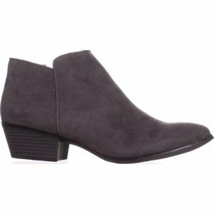 NWT!!! Style & Co Ankle Booties Charcoal, Size 11